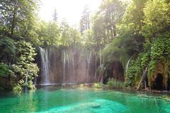 A beautiful day (marin.tomic) Tags: travel lake green nature water waterfall nationalpark nikon europe croatia unesco croazia croacia gettyimages hrvatska plitvice kroatien plitvicelakes d40