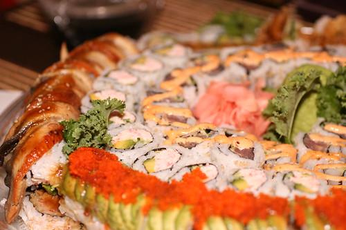 Sushi platter 2