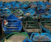 Green boats and blue boats (djemde) Tags: africa blue green port boats fishing harbour morocco essaouira