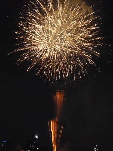 Fireworks event 2008 Sumida-river Tokyo