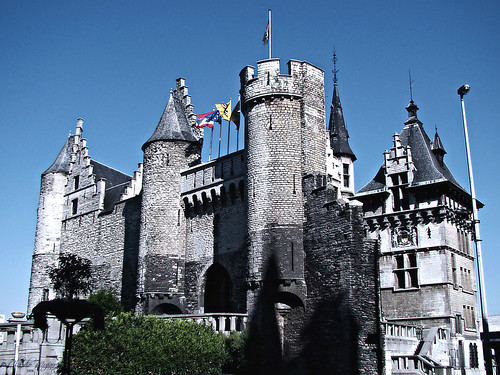 "Antwerp, Belgium 105 - Het Steen (""The Stone"") castle by Claudio.Ar (Out until Jul 27th)"