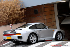 Porsche 959 (Julien Rubicondo Photography - julienrubicondo.com) Tags: classic silver automobile montecarlo monaco german porsche luxury supercar supercars 959