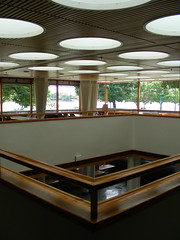 Alvar Aalto @ MIT (Ed Brodzinsky) Tags: cambridge college architecture campus university mit interior massachusetts finnish dormitory aalto skylights alvaraalto bakerhouse
