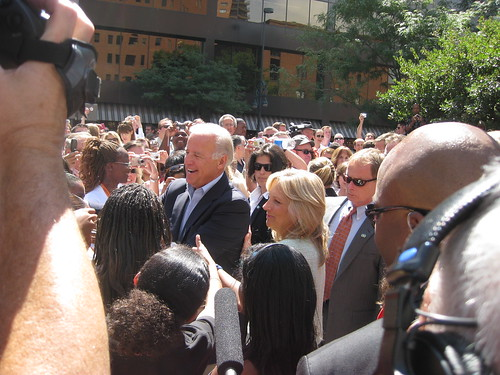 Joe Biden, in our presence!! by scriptingnews.