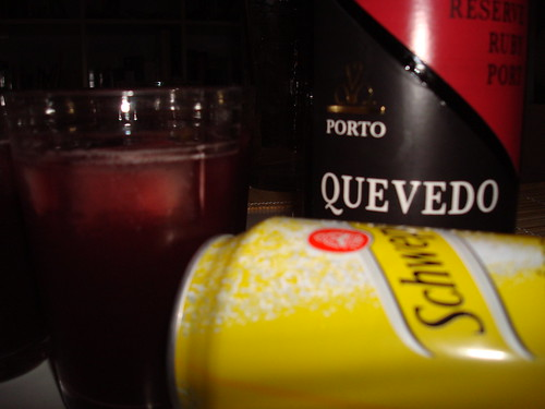 Quevedo Reserve Ruby with tonic by you.