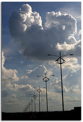 Good Morning! ($udhakar) Tags: cloud silhouette pentax picasa hyderabad cloudscape cyberabad krishlikesit smcpa50mmf17 justpentax picasa30 wwwsudhakarcom petnaxk100dsuper pcaclouds roadconnectingmindspaceandoldbomabypunehighway
