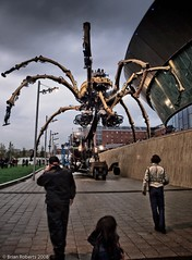 The Chances Of Anything Coming From Mars (Brian Roberts Images) Tags: liverpool spider albertdock salthouse lightroom lamachine goldstaraward wwwbrianrobertsimagescom