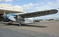 N8407-1a (PHLAIRLINE.COM) Tags: ford plane aviation flight airline planes eaa trenton bizjet ttn trimotor 4ate trentonmercerairport
