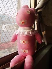花花粉紅兔