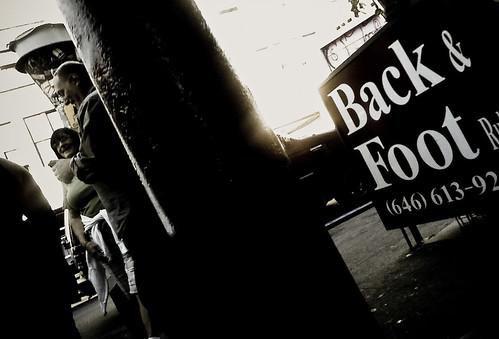 Back & Foot