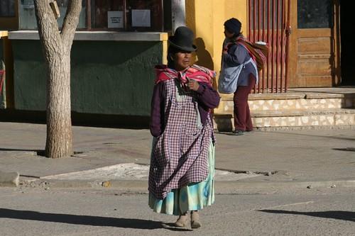 Villazon street life...