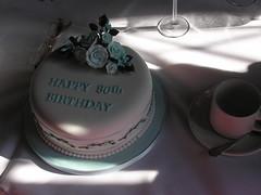 The cake (porcracer) Tags: joyce 80 aunty