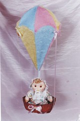 Bebê no Balão - A14 (Moldes videocurso artesanato) Tags: no balão bebê a14