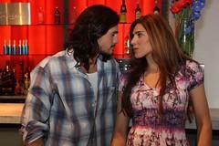 Christian Sancho y Lorena Meritano