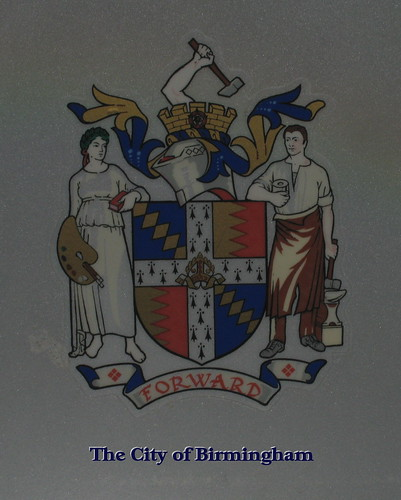 Birmingham's Coat of Arms.
