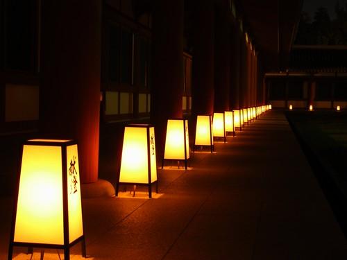 薬師寺(万燈会・夜)-14