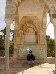 muslim shade (nako) Tags: israel jerusalem templemount