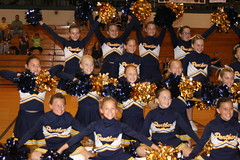 Maddie's Panther Cheer competition