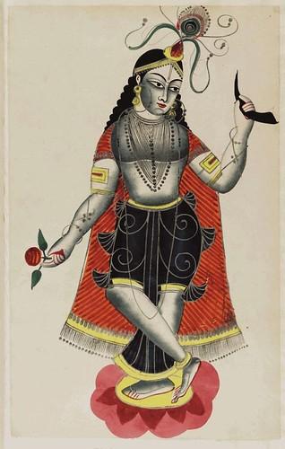 007-Balarama hermana de Krishna danzando