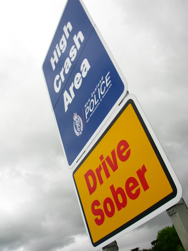 Drive Sober near Pukekohe, New Zealand