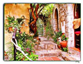Through the Gate in Eze