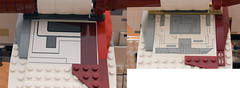 Wing Sticker- 7676 vs 7163 (starstreak007) Tags: lego vs republican gunship 7163 7676 compairing