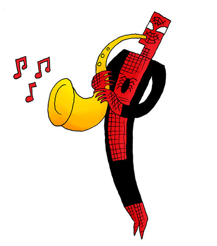 Spider-Man Plays Jazz