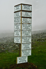 Oh No....Which Way....???? (Dave Hanmer) Tags: mountain alps sign austria tirol pentax signpost footpath tyrol stubai stubaital neustift 330gs mutterbergalm davehanmer davidhanmer