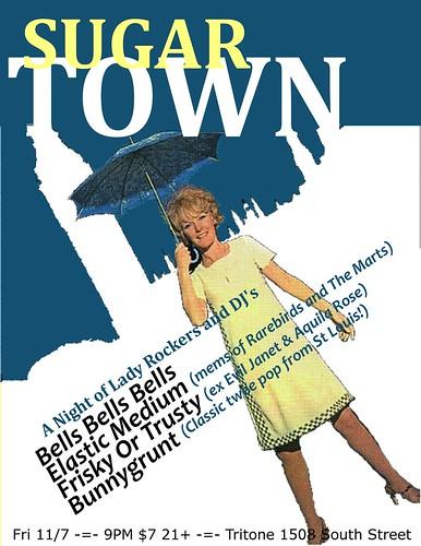 Sugar Town Flier 11/7/08