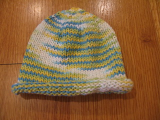 Ravelry: Basic Newborn Baby Hat - Rolled Brim pattern by ...