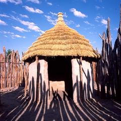 Africa03 (magdabiernat) Tags: africa house namibia himba