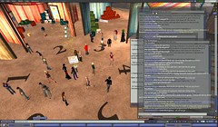 mayhem! 30 plus avatars turn up for the SL tour