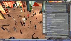 mayhem! 30 plus avatars turn up for the SL tour