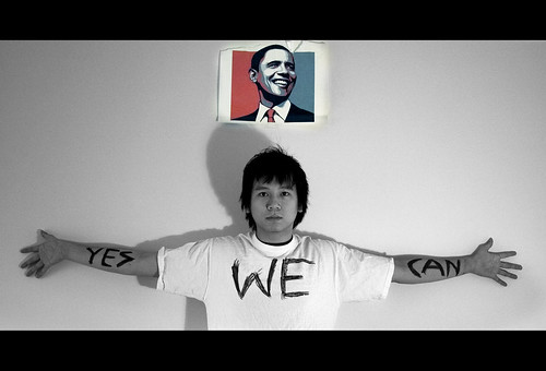 Chino yes we can Obama