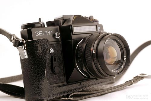 Mir-1V on Zenit ET