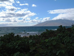 MAUI-DARK GREEN (SnapShotStar) Tags: ocean sunset sea island scenery maui kihei sunseaandsand 10millionphotos