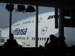 Boeing 747 en Frankfurt