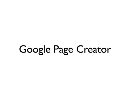simple web page creator