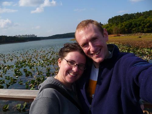 Marisa and Jordan at Lakeside