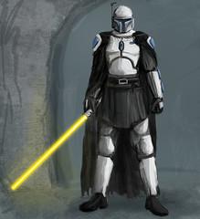 Solus Gar, Mando Jedi (With Helmet)