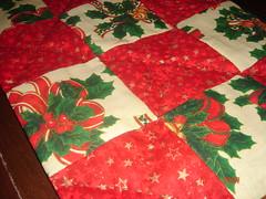 Detalhes (Fruto Tropical) Tags: natal de patchwork mo mesa mariana trilho feito natalino geisa