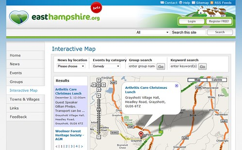 EastHampshire.org Map