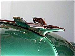 1954 Chevy Hood  Bird (Bob the Real Deal) Tags: detail macro green chevrolet reflections airplane airplanes chrome 1955chevy hoodornaments hoodornament closeupshots classicauto 1957chevy 1956chevy detailshots anawesomeshot 1954chevy hoodbirds kodakz712iszoom hoodbird