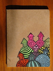 MOLESKINE journal (Matthew Lyman) Tags: new art moleskine illustration painting notebook pants drawing folk matthew surrealism painted journal fancy lyman primitive cahiers