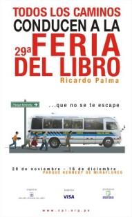 29° Feria del Libro Ricardo Palma