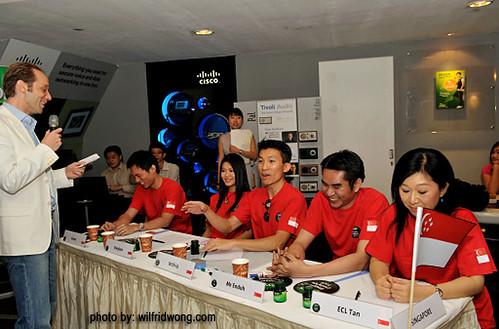 BRAND'S Blogger Challenge - 03 Team Singapore