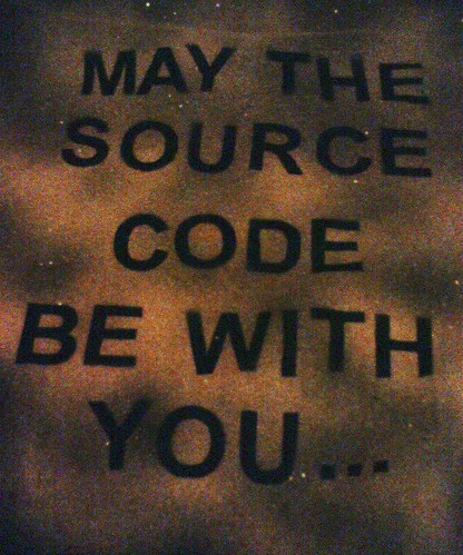 May the source code be with you
