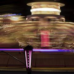 Shake me, mix me, centrifugue me (edouardv66) Tags: light color night switzerland nikon long exposure suisse geneva 85mm explore rotation lunapark nikkor genève plainpalais d700