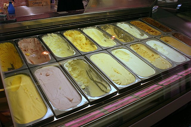 Choose from a variety of premium Hokkaido ice-cream