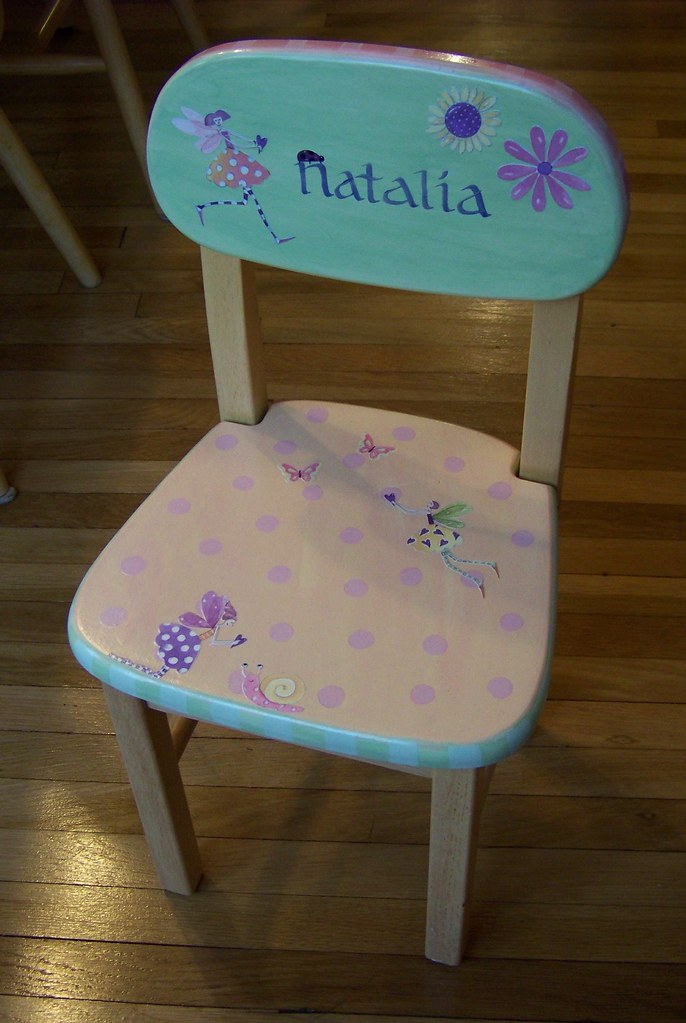 Decorated Chair 8
